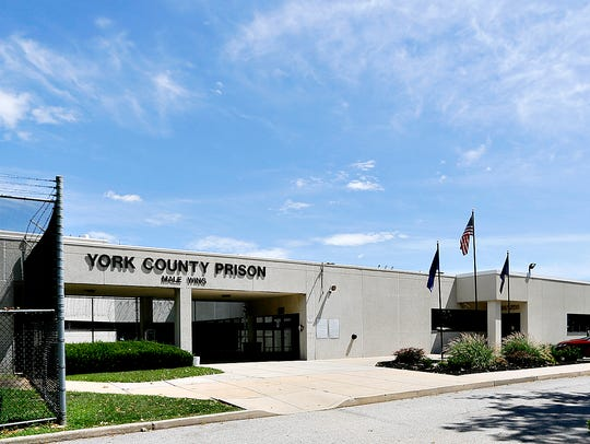 York County Prison in Springettsbury Township, Wednesday,