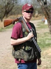Clayton Bolt enjoys being outdoors and sporting clays