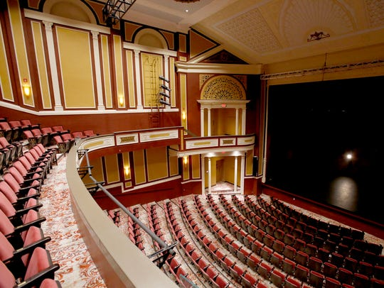 Interior of the Flagstar Strand Theatre for the Performing
