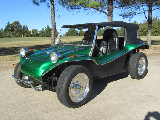 This 1966 Volkswagen dune buggy is scheduled for auction at Barrett-Jackson Scottsdale on Monday, Jan. 16, 2017.