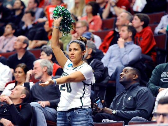 MSU basketball player Travis Trice's mom, Julie, is