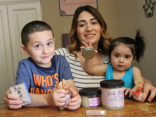 Ida Fierro said her children have been an inspiration for several of products. Fierro created Monster Spray, which includes essential oils to help her 5-year-old son sleep at night.