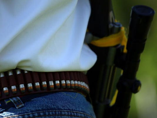 """""""Open Carry Rally"""" Protests Perceived Encroachment On Individual Rights"""