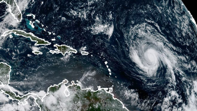 Hurricane Irma on Sept. 3, 2017.
