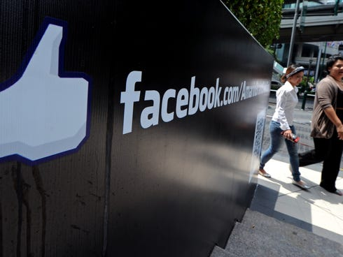 Facebook is added to the S&P 500.