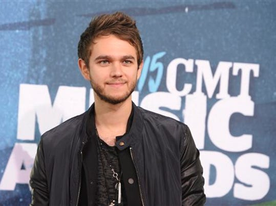 FILE - In this June 10, 2015 file photo, Zedd arrives at the CMT Music Awards in Nashville, Tenn.