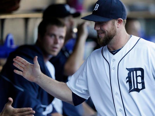 Detroit Tigers Lineup Bryan Holaday In At Catcher Vs Seattle Mariners