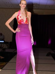 Fashions by Tkiani Francis, designer and owner of Real