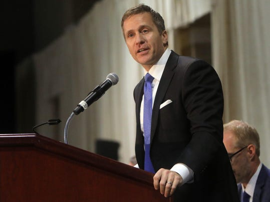 Gov. Greitens pays tribute to fallen officers at the 27th Annual Police Officer Memorial Prayer Breakfast