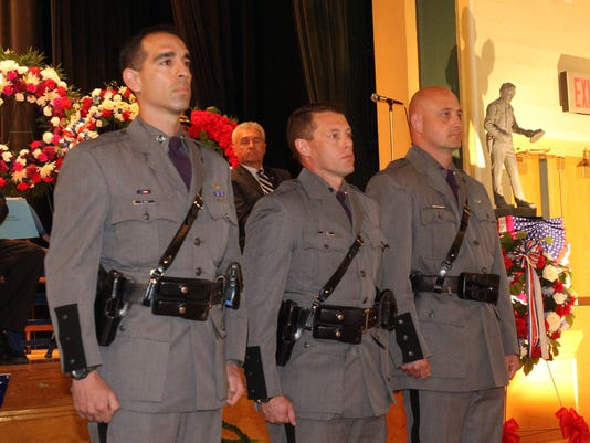 Ice rescuers honored