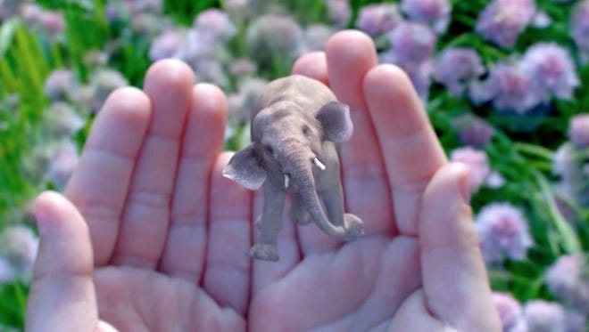 Magic Leap augmented reality imagery.