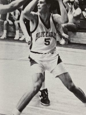 Steve McCracken is one of only a handful of Plymouth basketball players to reach 1,000 career points.