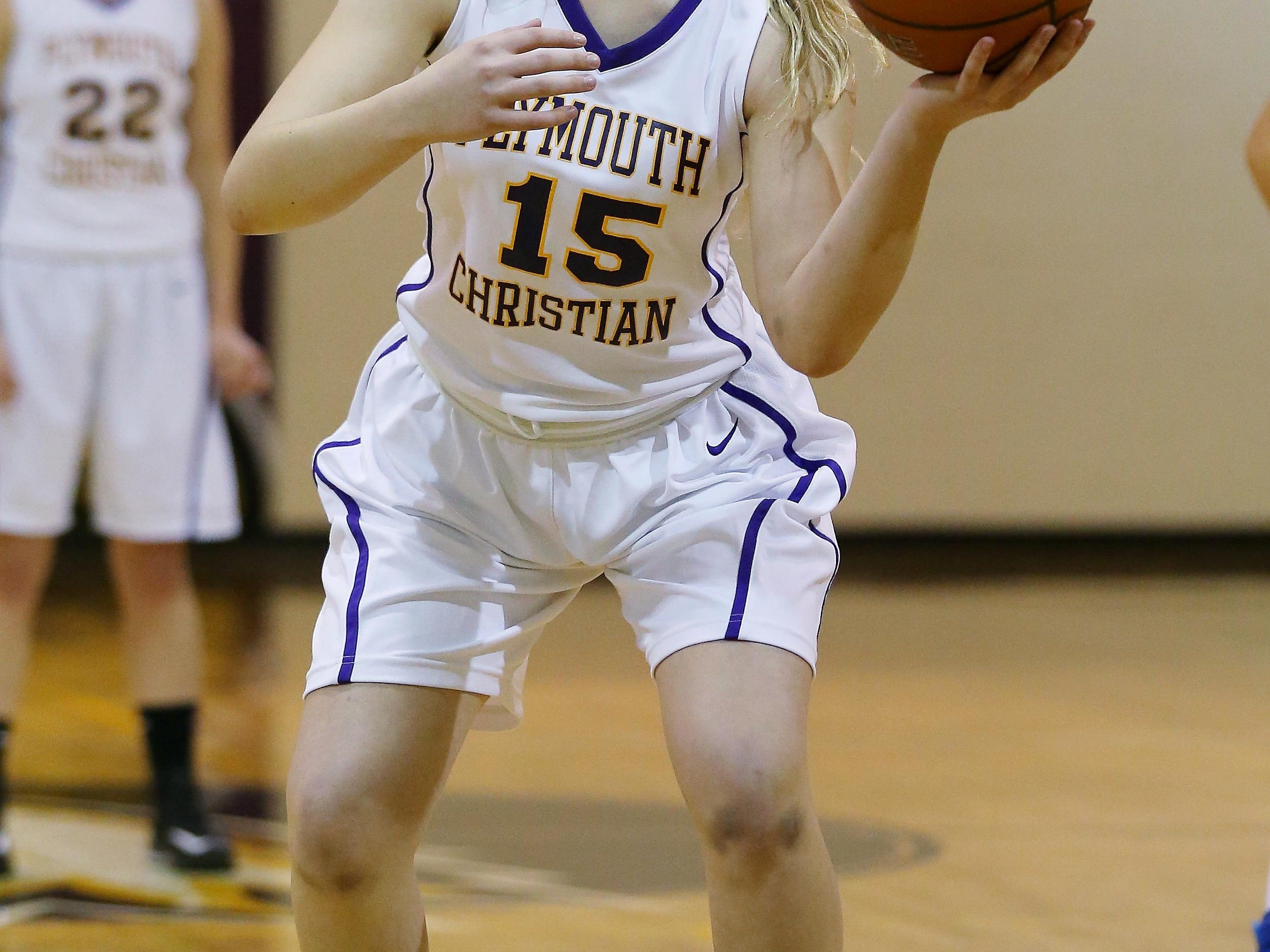 One of PCA's returning players is Lydia Chapel.