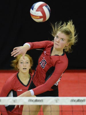 Mariah Whalen is a reason why Newman Catholic is one win away from another WIAA state girls volleyball championship.