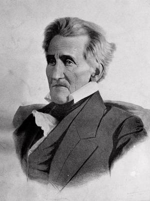 President Andrew Jackson, the seventh president of the United States, is shown in an undated file portrait.