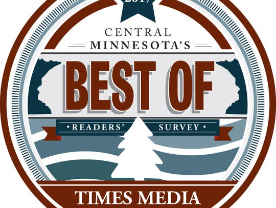 The 2017 Best of Central Minnesota logo.
