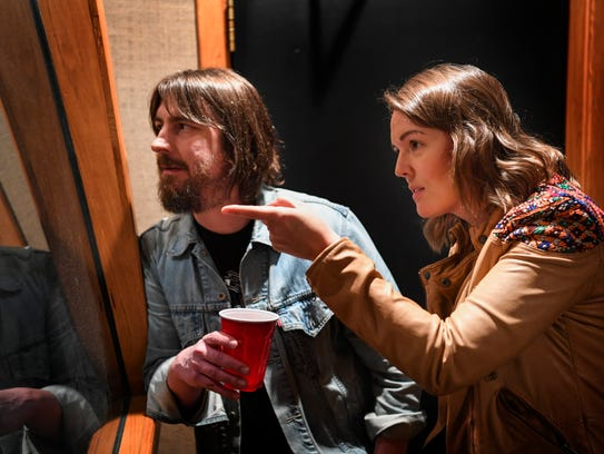 Producer Dave Cobb and singer-songwriter Brandi Carlile