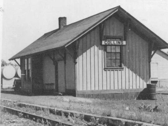 Collins Depot in June 1939.