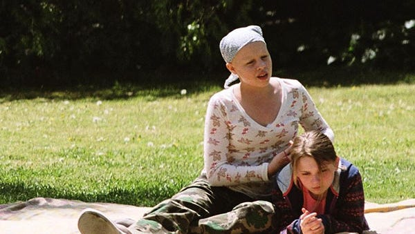 """In this image released by Warner Bros. Sofia Vassilieva, left, and Abigail Breslin are shown in a scene from """"My Sister's Keeper."""""""