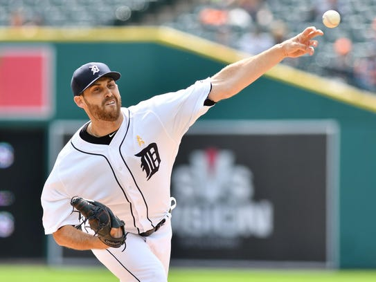 Tigers pitcher Matthew Boyd is 5-8 with a 5.92 ERA