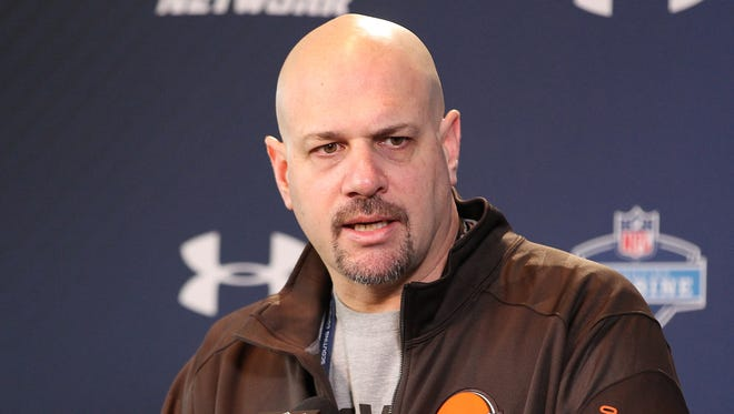 Cleveland head coach Mike Pettine says the Browns are scouting a big list of quarterbacks for the upcoming draft in May.