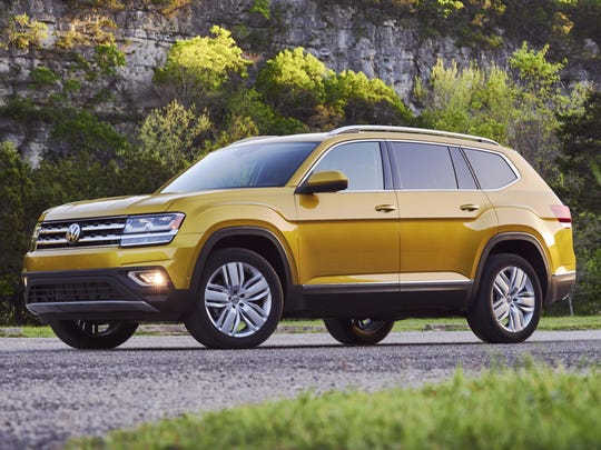The 2018 Volkswagen Atlas is strong only to a point.