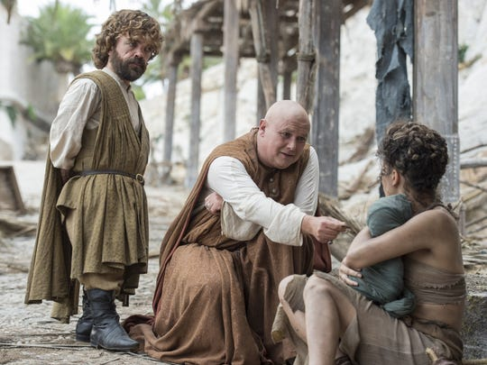 Tyrion (left) and Varys are part of a quartet set to