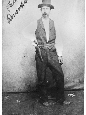 According to the Kansas State Historical Society, William L. (Billy) Brooks, was a stagecoach driver; a Marshal of Newton, Kansas; a Policeman in Ellsworth, Kansas; and a criminal.