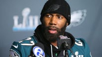 Malcolm Jenkins learned from that and brought three cases of cognac to the Eagles' parade.