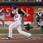 Jason Leblebijian was named the Midwest League player of the week Monday.