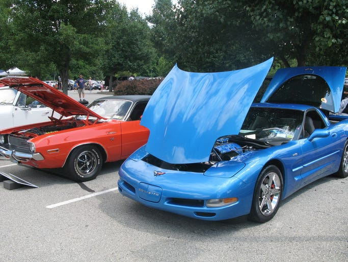 Cars of all ages were on display on Sunday at the Hyde Park Car Show.