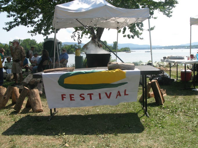 The annual Beacon Sloop Club Corn Festival was held at Beacon's Pete and Toshi Seeger Riverfront Park on Sunday.