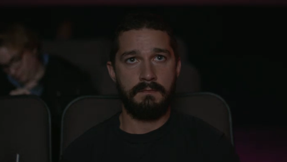 Watching Shia watch himself.