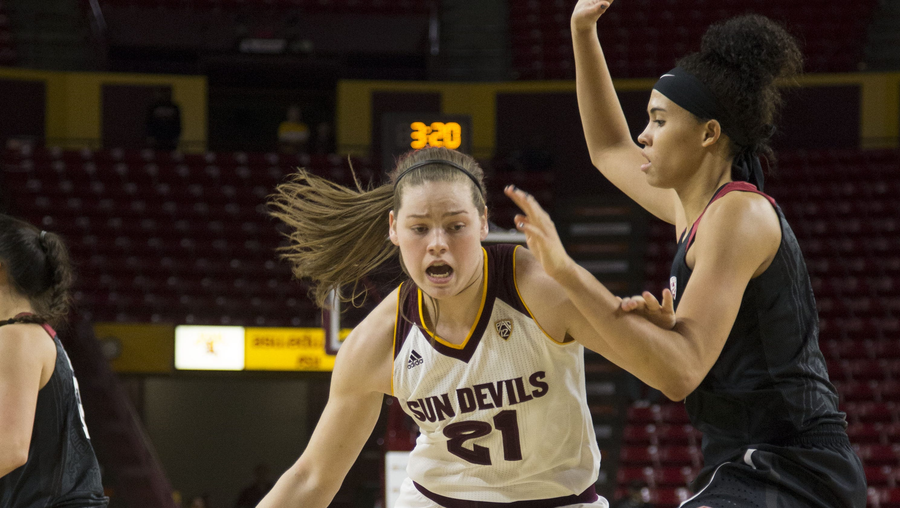 No. 14 ASU women hold No. 9 Stanford to all-time scoring low