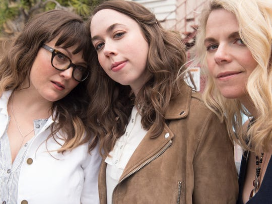 Sara Watkins, Sarah Jarosz, and Aoife O'Donovan, who make up the Americana band I'm With Her, recently returned from a European tour.