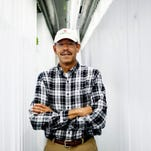 Michigan farmer grows crops in shipping containers