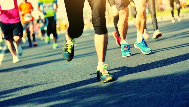 Lindsay Doherty collapsed at the end of Sunday's 13.1-mile (21.1-kilometer) Scranton Half Marathon.
