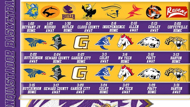 Dodge City Community College men's basketball to open season Jan. 22, 2021 against Bethany JV. SUBMITTED PHOTO