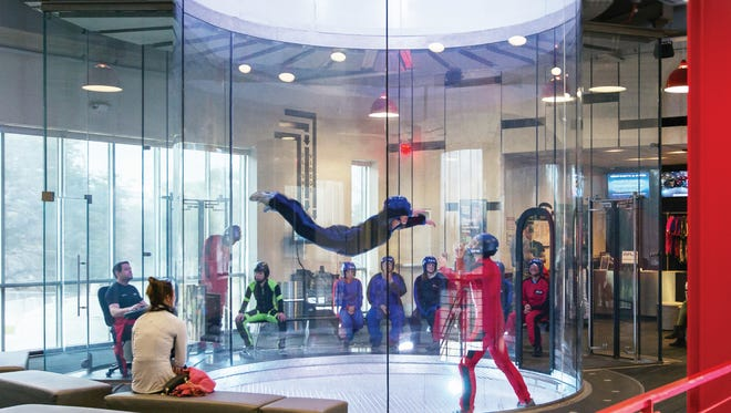 The Phoenix area's first indoor skydiving attraction is set to open Jan. 30 on the Salt River Reservation near Scottsdale.