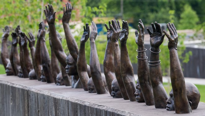 The National Memorial for Peace and Justice, which memorializes lynching victims from Shelby County and across the South, opened Thursday in Montgomery, Ala.