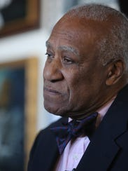 Ernie Davis, a former mayor off Mount Vernon, in his architecture office in the city last March.