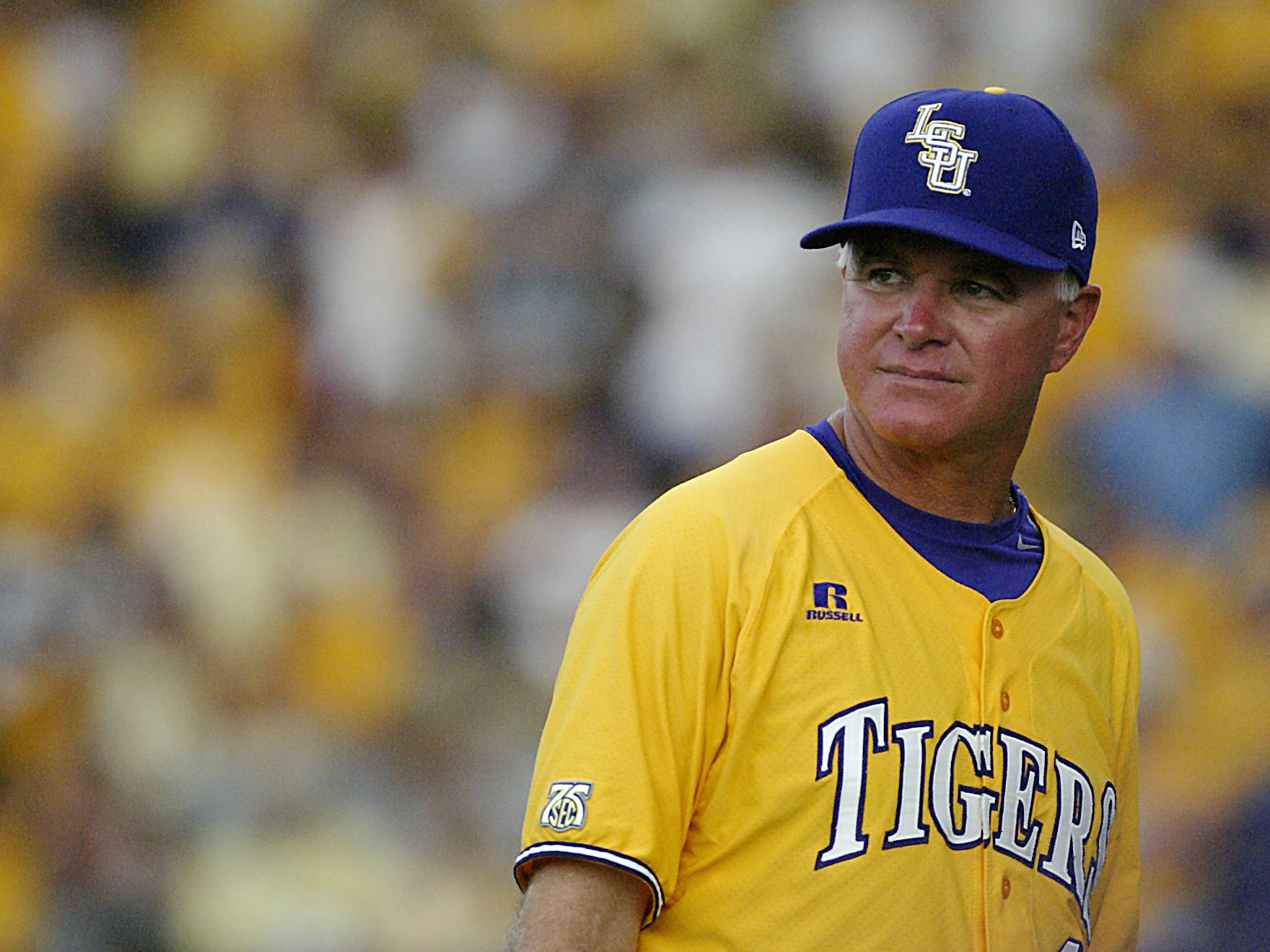 LSU Tigers head coach Paul Mainieri has a reputation for protecting his pitchers' arms.