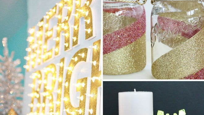 Beautiful, bright and sparkling DIYs to give your wintertime some shine.