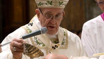Pope encourages breastfeeding in Sistine Chapel