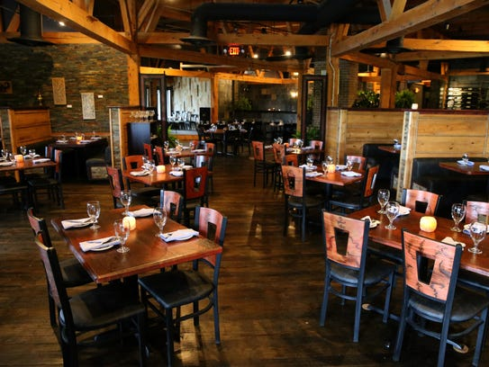 View of the dining room, pictured, Wednesday, May 9,