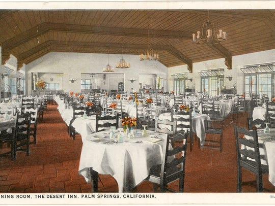 The Desert Inn Dining Room circa 1940 (Courtesy of