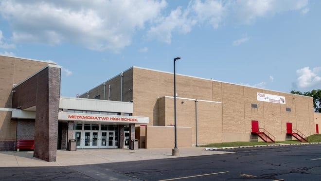 Metamora Township High School, 101 W. Madison St., Metamora, is seen Monday.