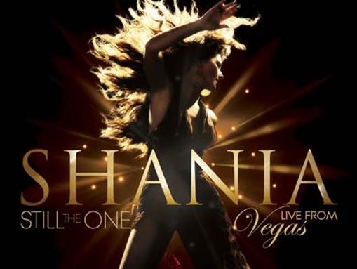Shania Twain will release 'Shania: Still the One Live