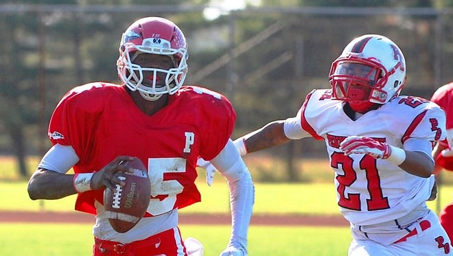 A two-year starter at quarterback, Paulsboro senior Carlton Aiken will sign a National Letter of Intent on Wednesday to play at Central Connecticut State.