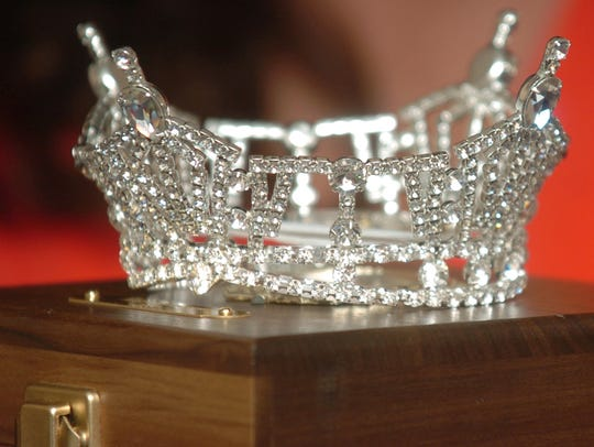File photo of a Miss Tennessee crown